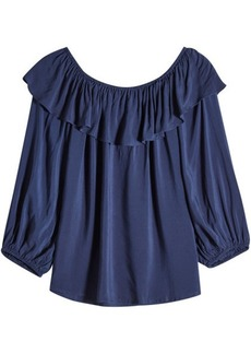 Velvet by Graham & Spencer Ibby Off-Shoulder Blouse