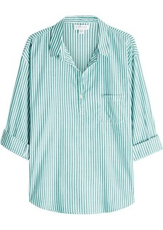 Velvet by Graham & Spencer Idona Striped Cotton Shirt