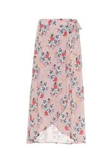 Velvet by Graham & Spencer Isadora floral printed skirt