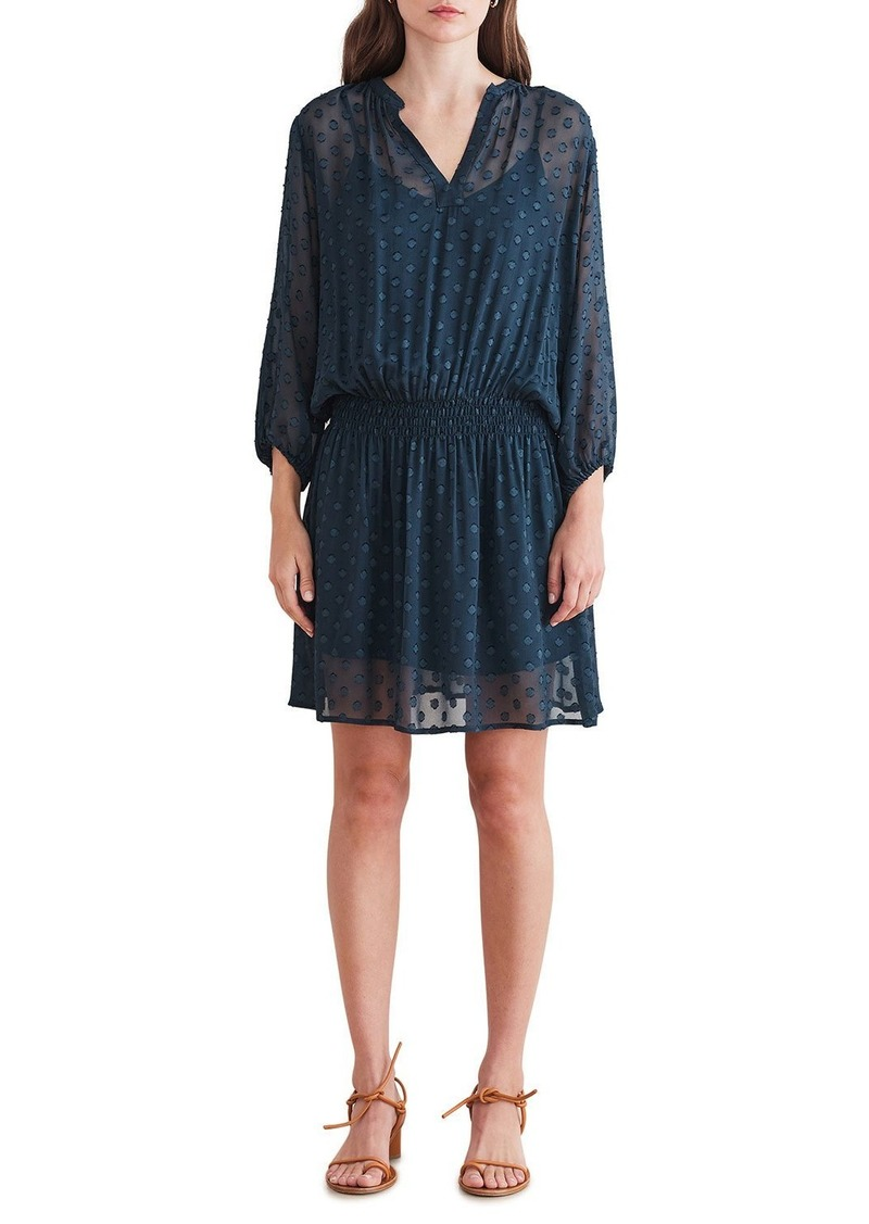 Velvet by Graham & Spencer Jael04 Georgette Dot Dress