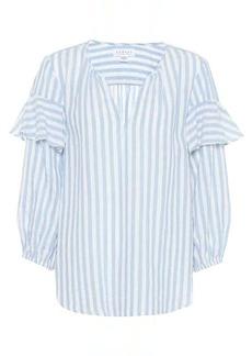 Velvet by Graham & Spencer Jaida cotton-blend top
