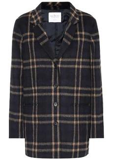 Velvet by Graham & Spencer Jasmann plaid wool-blend coat