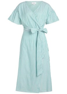 Velvet by Graham & Spencer Jayel Striped Cotton Shirt Dress