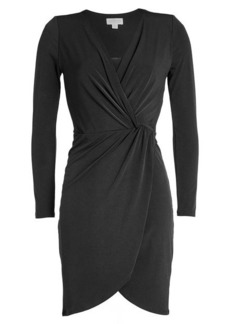 Velvet by Graham & Spencer Jersey Wrap Dress