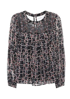Velvet by Graham & Spencer Jewel printed top