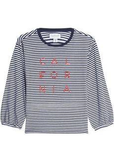 Velvet by Graham & Spencer Jocelynn Striped Cotton Top