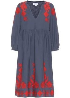 Velvet by Graham & Spencer Jora cotton and linen dress