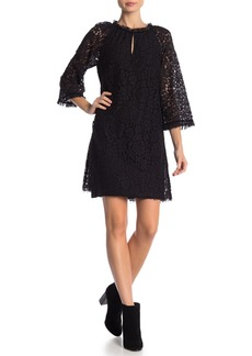 Velvet by Graham & Spencer Julienne Floral Lace Shift Dress