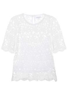 Velvet by Graham & Spencer Kaylee cotton lace top