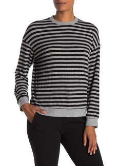 Velvet by Graham & Spencer Landry Striped Pullover Sweater