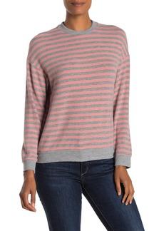 Velvet by Graham & Spencer Landry Striped Pullover Sweater