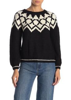 Velvet by Graham & Spencer Long Sleeve Crew Neck Sweater