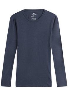 Velvet by Graham & Spencer Long Sleeved Cotton Top