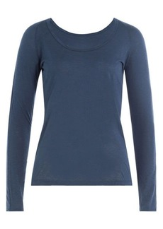 Velvet by Graham & Spencer Long Sleeved Top with Cotton