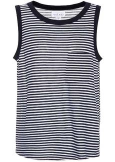 Velvet by Graham & Spencer Lucia sleeveless cotton-blend top