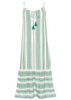 Velvet by Graham & Spencer Lynda patterned cotton midi dress