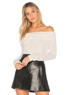 Velvet by Graham & Spencer Meela Off the Shoulder Tee