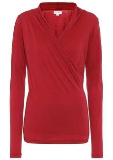 Velvet by Graham & Spencer Meri stretch-cotton jersey top
