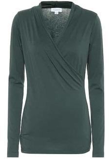 Velvet by Graham & Spencer Meri stretch-cotton top