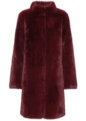 Velvet by Graham & Spencer Mina faux fur reversible coat