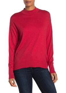 Velvet by Graham & Spencer Mock Neck Long Sleeve Sweater