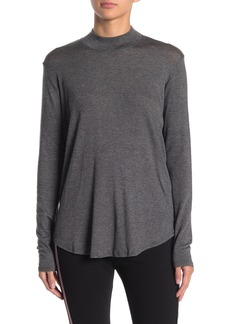 Velvet by Graham & Spencer Mock Neck Long Sleeve Top