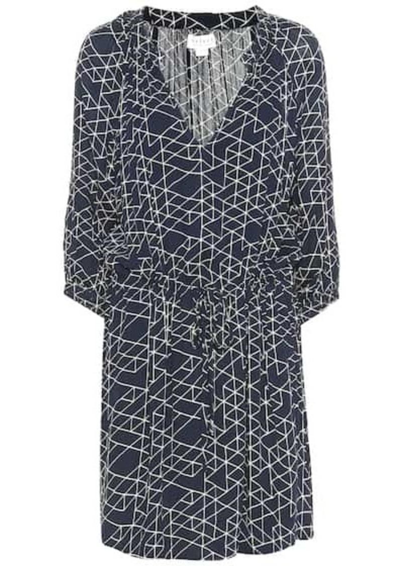 Velvet by Graham & Spencer Morgan printed dress