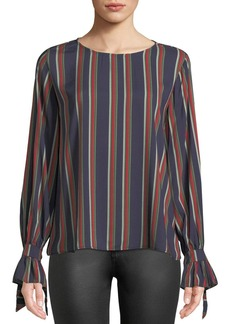 Velvet by Graham & Spencer Oakley Striped Long-Sleeve Top