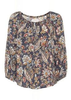 Velvet by Graham & Spencer Odet floral blouse