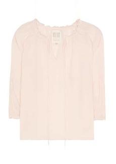 Velvet by Graham & Spencer Off-the-shoulder cotton top