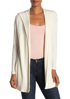 Velvet by Graham & Spencer Osanna Open Front Cardigan Hoodie