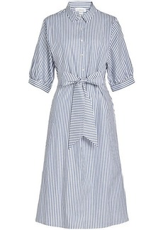 Velvet by Graham & Spencer Penelope Striped Cotton Shirt Dress