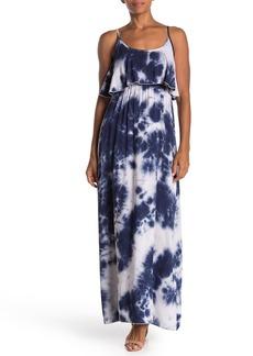Velvet by Graham & Spencer Tie-Dye Popover Maxi Dress