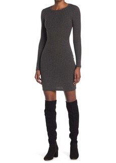 Velvet by Graham & Spencer Ribbed Knit Mini Dress