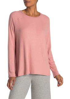 Velvet by Graham & Spencer Rinda Cozy Rib Knit Long Sleeve Top