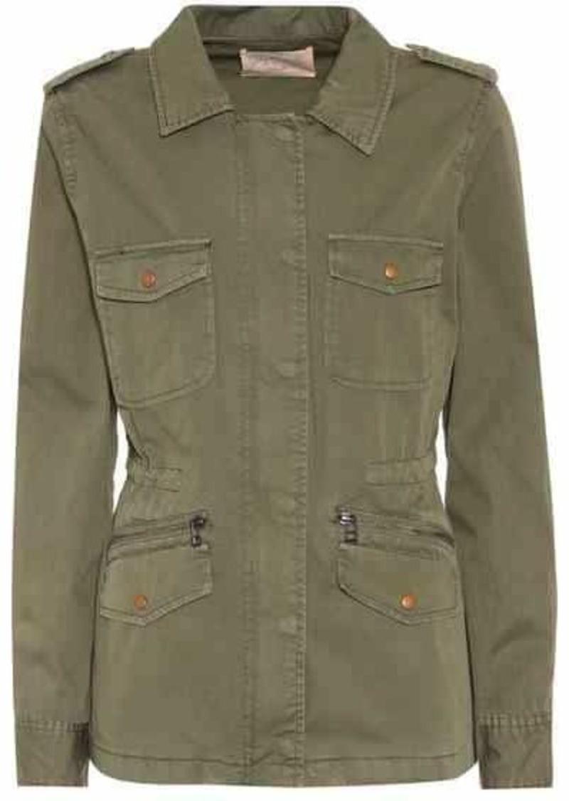 Velvet by Graham & Spencer Ruby cotton jacket