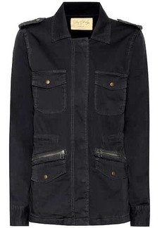 Velvet by Graham & Spencer Ruby cotton military jacket