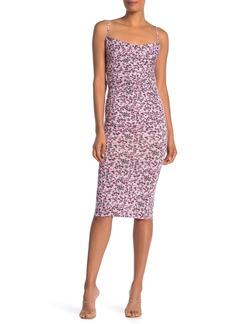 Velvet by Graham & Spencer Ruched Front Floral Print Dress