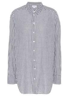 Velvet by Graham & Spencer Rufina plaid cotton shirt