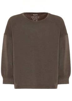 Velvet by Graham & Spencer Rumer jersey sweatshirt