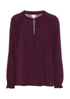 Velvet by Graham & Spencer Samantha challis peasant blouse