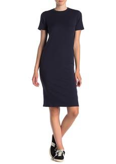 Velvet by Graham & Spencer Short Sleeve Rib Knit Dress