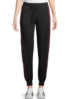 Velvet by Graham & Spencer Side-Stripe Modal/Cotton Jogger Pants