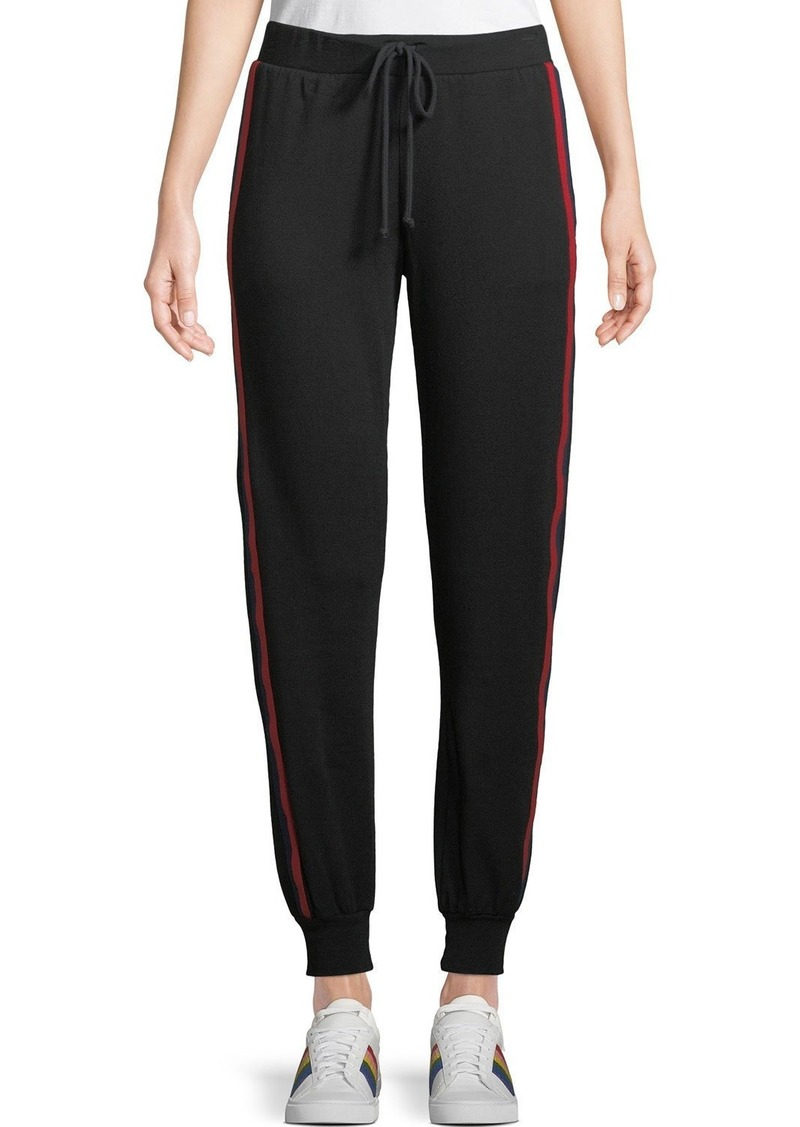 48002bad03b50 Side-Stripe Modal/Cotton Jogger Pants