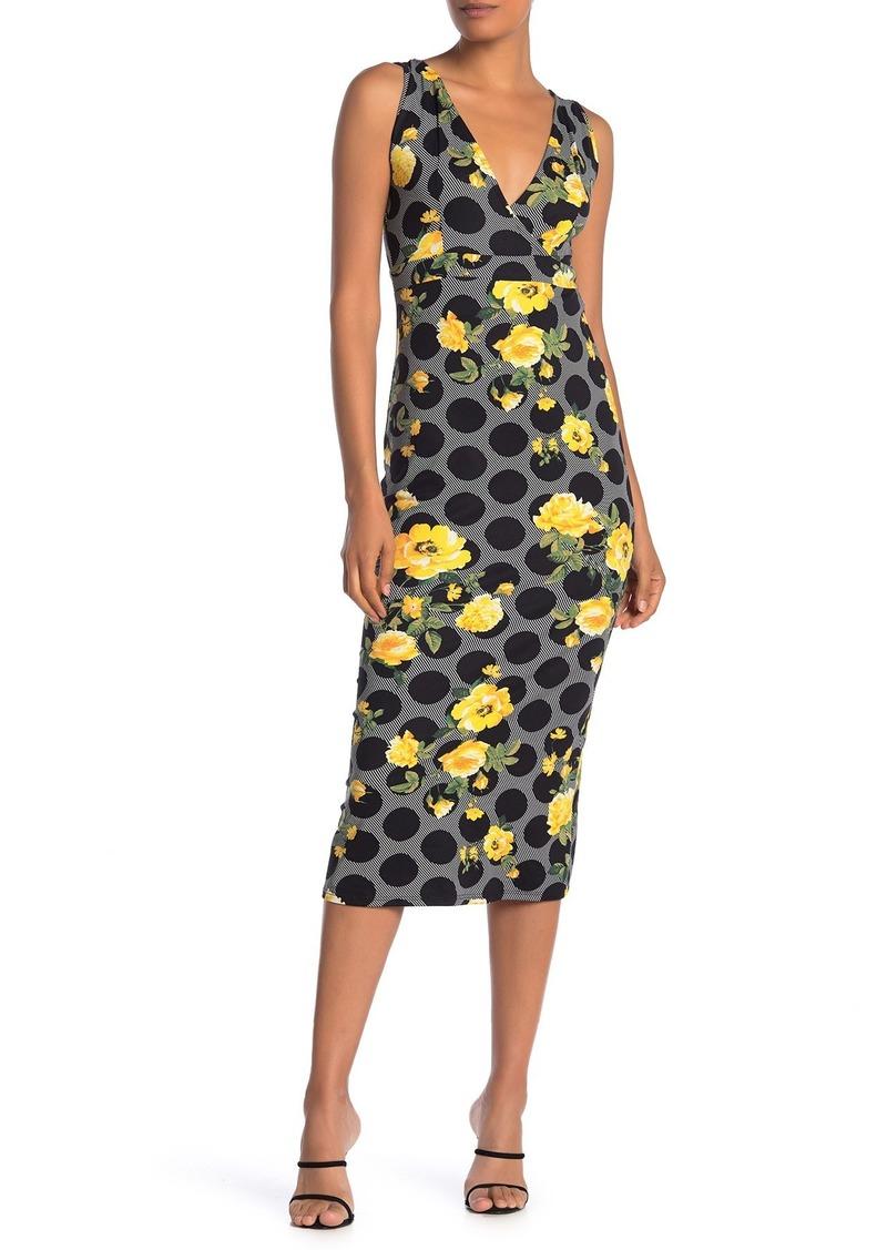 Velvet by Graham & Spencer Sleeveless Empire Midi Dress