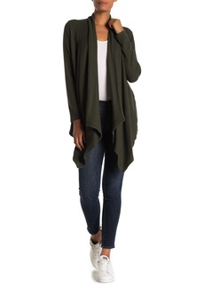 Velvet by Graham & Spencer Soraya Cozy Rib Knit High/Low Cardigan