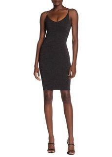 Velvet by Graham & Spencer Sparkle Spaghetti Strap Bodycon Dress