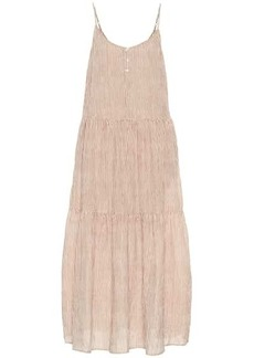 Velvet by Graham & Spencer Steffi striped cotton maxi dress