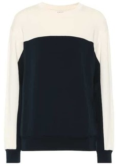 Velvet by Graham & Spencer Stella fleece sweatshirt
