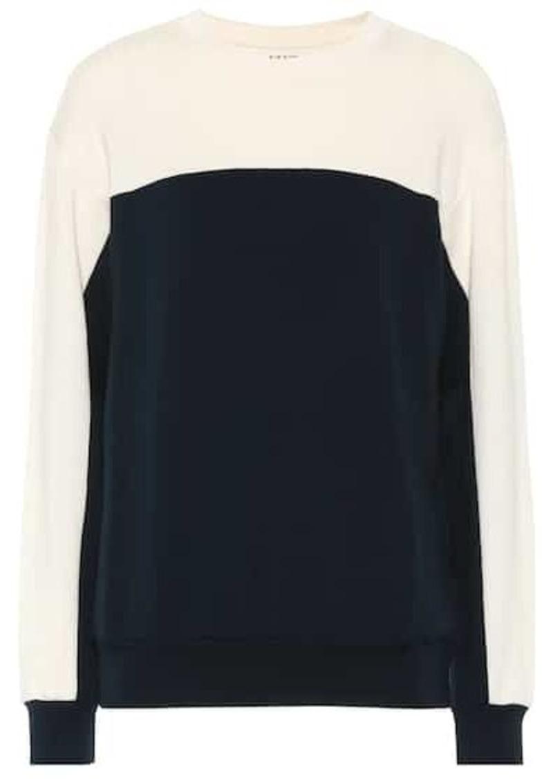 Velvet by Graham & Spencer Stella fleece sweatshirt